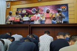 Polres Serang Kota ungkap 19 kasus narkoba selama bulan September 2020