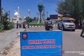 Kabupaten Kayong Utara gelar operasi yustisi tegakkan protokol kesehatan