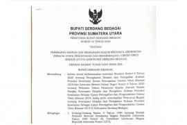 Sergai terbitkan Perbup Penerapan Disiplin Protokol Kesehatan