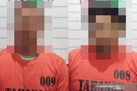 Polres HST berhasil amankan 58 paket sabu dari dua tersangka warga Palajau