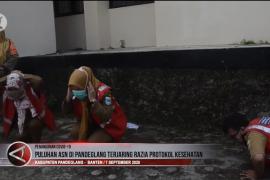 Puluhan ASN terjaring razia protokol kesehatan di Pandeglang