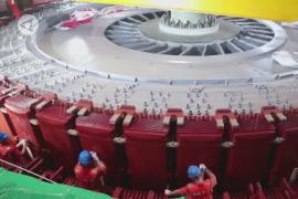 Pembangunan PLTA terbesar kedua di China berjalan lancar