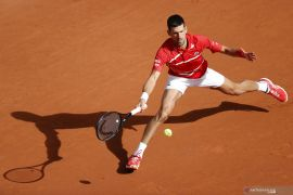 French Open: Djokovic catatkan kemenangan ke-70 di Roland Garros