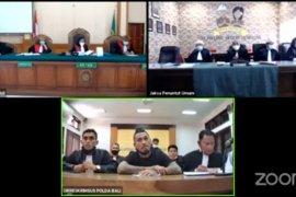 Hakim tolak eksepsi  Jerinx SID dalam sidang virtual