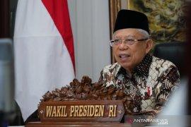 HUT ke-75, Wapres harap TNI terus dukung Pemerintah atasi pandemi