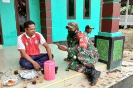 Warga Kecamatan Pulau Hanaut senang Kehadiran Satgas TMMD ke-109