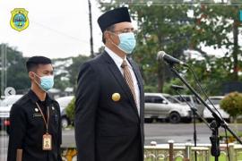 Pjs Bupati Tanjabtim pimpin Peringatan Hari Kesaktian Pancasila