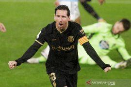 Messi akui tidak terlalu terobsesi untuk cetak gol