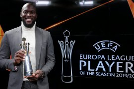 Romelu Lukaku raih gelar pemain terbaik Liga Europa