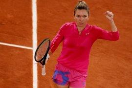 Halep libas Amanda  Anisimova untuk tapaki 16 besar Roland Garros