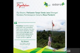 Adaro Indonesia Bantu Guru Dalam Memberikan Ilmu