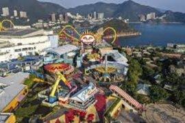 Ocean Park Hong Kong kembali dibuka, Menara Kuning Wuhan jadi wisata malam