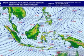 BMKG Aceh: belokan angin sebabkan potensi hujan hingga akhir pekan ini
