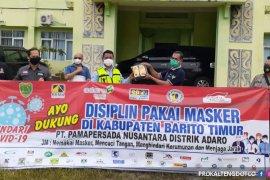 PT PAMA Adaro Group serahkan bantuan 5.000 masker ke Bartim