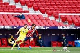 Atletico imbang 0-0 dengan Villarreal di Liga Spanyol