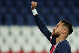 Neymar cetak gol, PSG bantai Angers 6-1