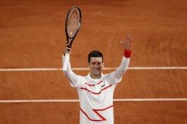 Unggulan utama Novak Djokovic lewati Galan untuk lolos ke 16 besar French Open