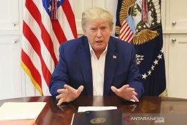 Trump mengaku telah sembuh total dari COVID-19 dan akan lanjutkan kampanye