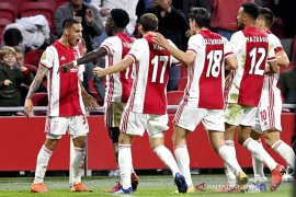 Ajax pesta gol 5-1 ke gawang Heerenveen di Liga Belanda