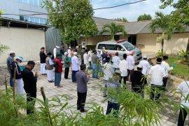 Bupati Bangka Tengah Ibnu Saleh wafat positif COVID-19