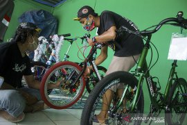 Kontes modifikasi sepeda mini