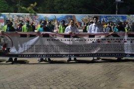Sejumlah Aktivis Mahasiswa Indonesia deklarasi dukung pemerintah