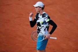 French Open: Depak Zverev, Sinner jadi petenis termuda lolos perempat final