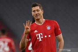 Liga Jerman - Lewandowski ukir empat gol saat Bayern menang  atas Hertha