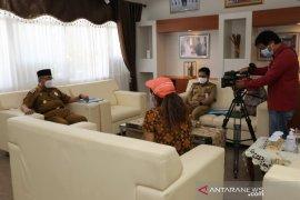 Dikunjungi Antara TV, Bupati HSS sampaikan dua unggulan inovasi daerah