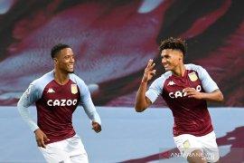 Aston Villa menggila, hajar juara bertahan Liverpool 7-2