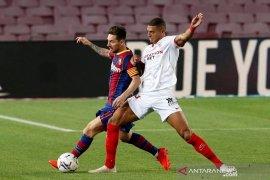 Liga Spanyol - Barcelona berbagi poin dengan Sevilla 1-1