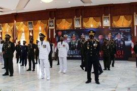 Pjs Wali Kota ikuti upacara peringatan HUT ke-75 TNI