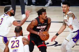 Miami Heat kalahkan LA Lakers di final NBA, perkecil defisit jadi 1-2