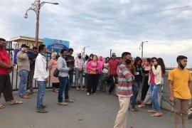 Pedagang keluhkan penutupan WFC Kualatungkal, berjanji ikuti protokol kesehatan