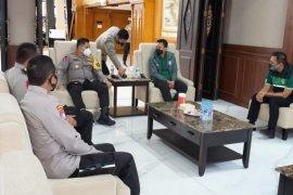 Bahas kelanjutan Liga 1, Presiden Persebaya temui Kapolda Jatim