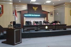 DPRD Banjarmasin sampaikan revisi Raperda Damkar dan Reklame