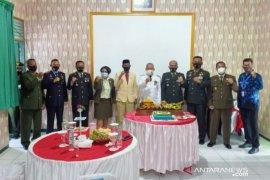 Bupati HST ikuti upacara HUT Ke-75 TNI secara virtual