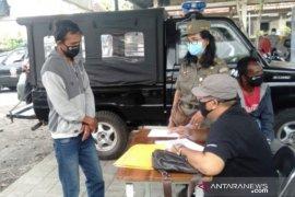 Puluhan pelanggar terjaring operasi disiplin protokol kesehatan di Denpasar