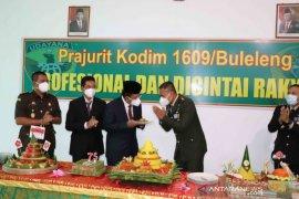 Kodim Buleleng rayakan HUT ke-75 TNI dengan adakan donor plasma konvalesen