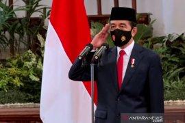 Presiden Jokowi minta TNI antisipasi karakter pertempuran masa depan