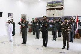 Begini upacara HUT ke-75 TNI di Kodim 0104 Aceh Timur