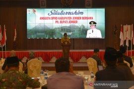 Silaturahim Plt Bupati-DPRD Jember wacanakan percepat pembahasan APBD 2021