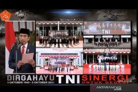 Presiden Jokowi dukung transformasi TNI