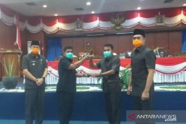 Pemkab Belitung sampaikan tiga Raperda kepada DPRD