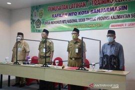 58 kafilah MTQ Kota Banjarmasin jalani TC