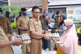 620 KK warga kurang mampu di Kota Pontianak dapat bantuan telur