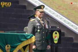 Kasad pimpin upacara Prasetya Perwira AD 2020 di Bandung