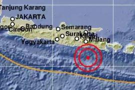 Gempa magnitudo 5 guncang Lumajang