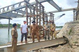 Target pembangunan jembatan Bintah selesai Desember 2020, begini kata Bupati Aceh Jaya