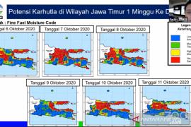 BMKG peringatkan adanya potensi karhutla di Pulau Jawa